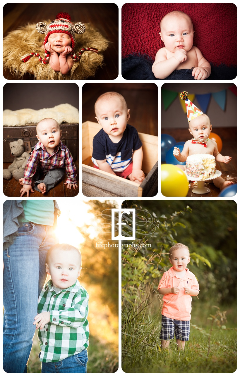 Baby's First 2 years || Fife Photography, South Jersey