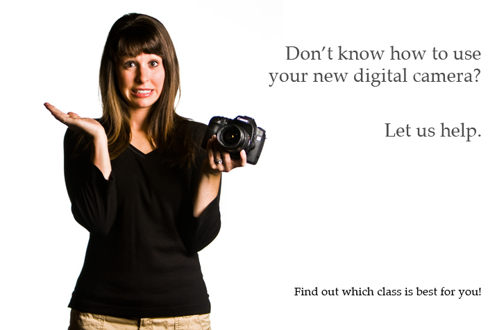 digital photography lessons advertisement